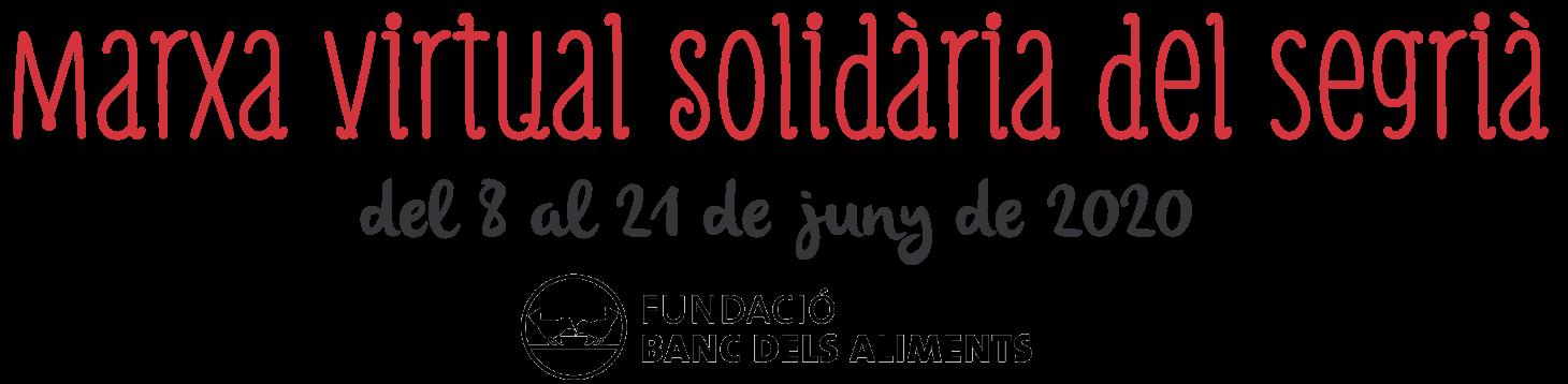 Marxa Virtual Solidària del Segrià
